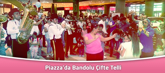 Kahramanmaraş Piazza AVM'de Bandolu Çifte Telli