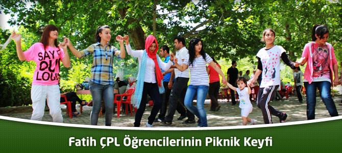 Fatih ÇPL Öğrencilerinin Piknik Keyfi