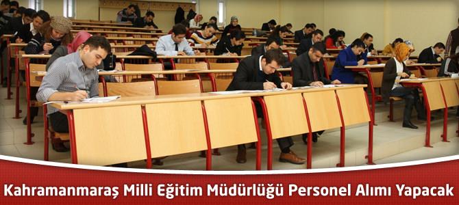Milli Eğitim Müdürlüğü Personel Alımı Yapacak