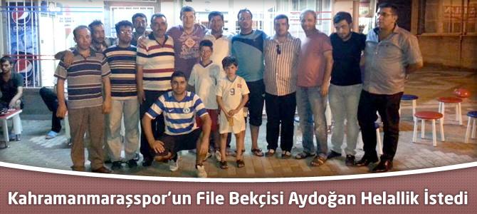 Kahramanmaraşspor'un File Bekçisi Taylan Aydoğan Helallik İstedi