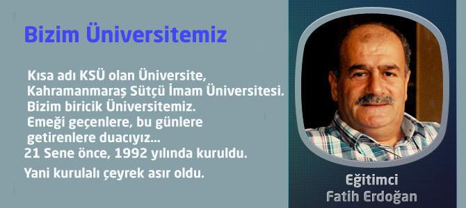 Bizim Üniversitemiz