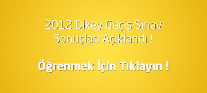 2013 DGS sonuçları açıklandı! Öğrenmek için tıklayın !