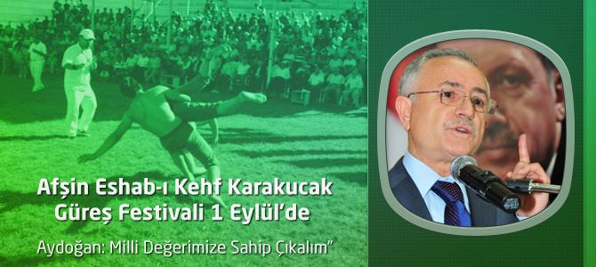 Afşin Eshab-ı Kehf Karakucak Güreş Festivali 1 Eylül'de