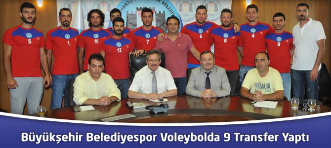 Kahramanmaraş Büyükşehir Belediyespor Voleybolda 9 Transfer Yaptı