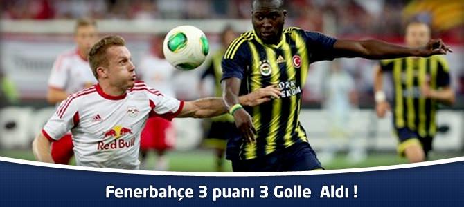 Fenerbahçe 3 – Red Bull Salzburg 1 maç özeti ve goller Şampiyonlar Ligi