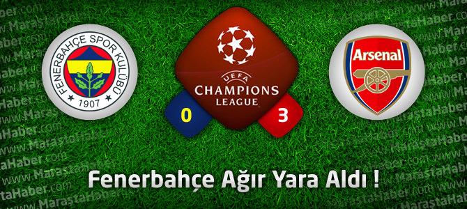 Fenerbahçe 0 – Arsenal 3 maçın geniş özeti ve goller