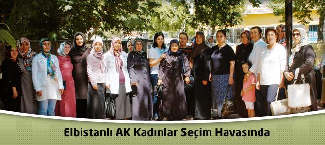 AK Kadınlar Seçim Havasında
