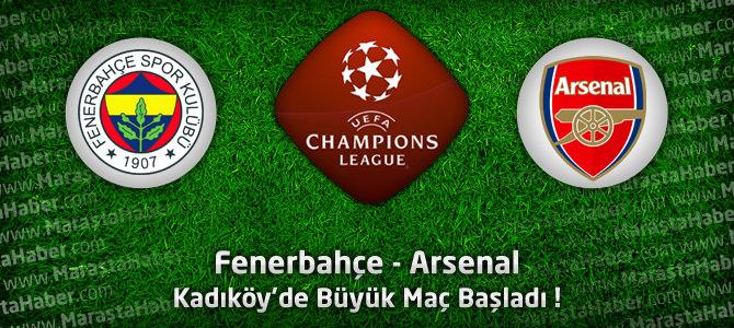 Fenerbahçe – Arsenal Şampiyonlar ligi maç özeti
