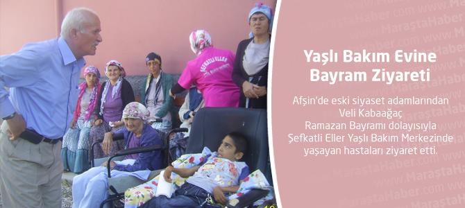 Yaşlı Bakım Evine Bayram Ziyareti.