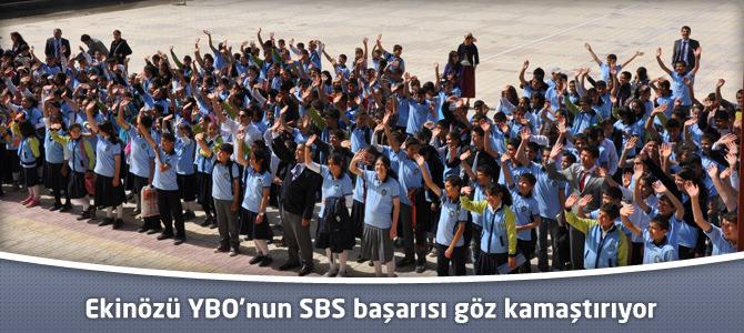 Ekinözü YBO'nun SBS başarısı göz kamaştırıyor