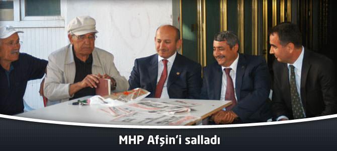 MHP Afşin'i Salladı
