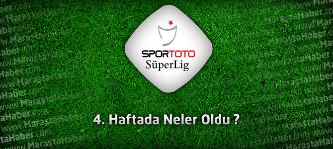 Süper Lig 4. Hafta Maç Özetleri – Beşiktaş, Fenerbahçe, Galatasaray