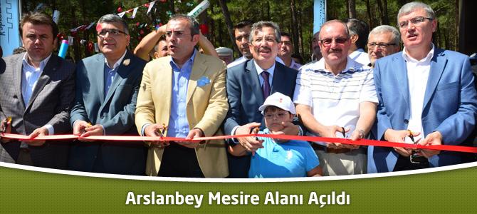 Kahramanmaraş Belediyesi Arslanbey Mesire Alanı Açıldı