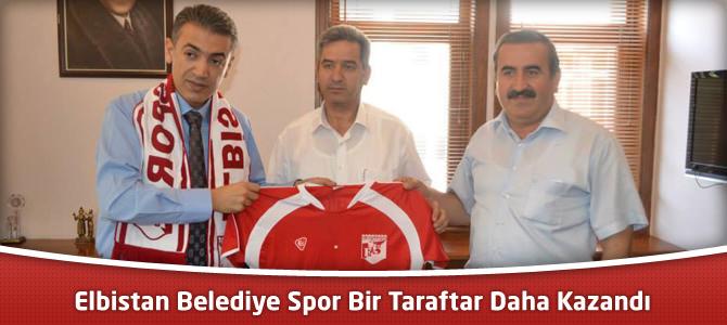 Elbistan Belediye Spor Bir Taraftar Daha Kazandı