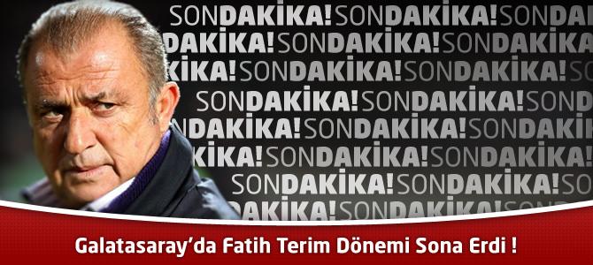 Galatasaray Kulübü'nden Fatih Terim ile ilgili resmi açıklama geldi !