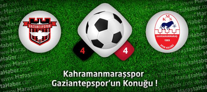 Gaziantepspor – Kahramanmaraşspor Hazırlık maçı özeti