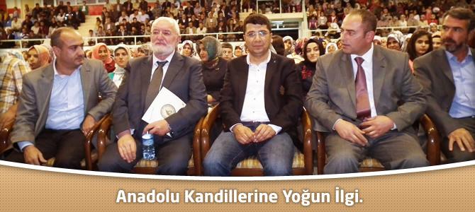 Anadolu Kandillerine Yoğun İlgi.