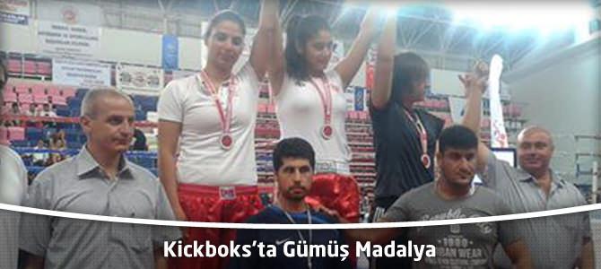 Kickboks'ta Kahramanmaraş Büyükşehir Belediyespor'a Gümüş Madalya