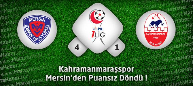 Mersin İdmanyurdu 4 – Kahramanmaraşspor 1 Maçın geniş özeti ve golleri