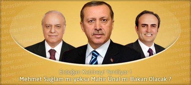 Mehmet Sağlam mı yoksa Mahir Ünal mı Bakan Olacak ?