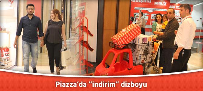 "Kahramanmaraş Piazza'da ""indirim"" dizboyu"