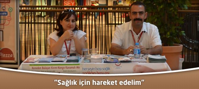 """Kahramanmaraş Piazza AVM : """"Sağlık için hareket edelim"""""""
