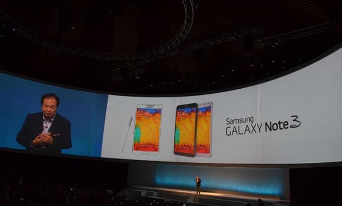 Galaxy Note 3 Tanıtıldı ! İşte özelikleri