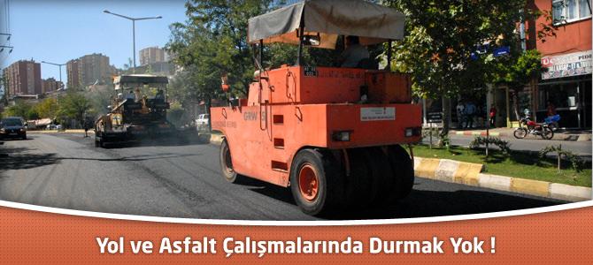 Kahramanmaraş Belediyesi'nde Yol ve Asfalt Çalışmalarında Durmak Yok