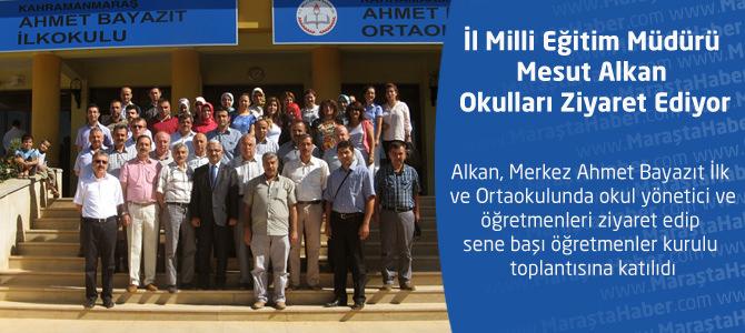 İl Milli Eğitim Müdürü Mesut Alkan'dan Ahmet Bayazıt İlk ve  Ortaokulu'na Ziyaret