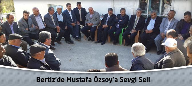 Bertiz'de Mustafa Özsoy'a Sevgi Seli
