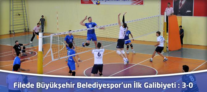 Filede Kahramanmaraş Büyükşehir Belediyespor'un İlk Galibiyeti : 3-0