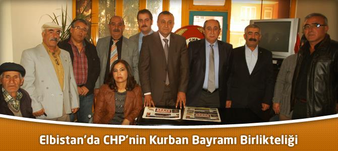 Elbistan'da CHP'nin Kurban Bayramı Birlikteliği