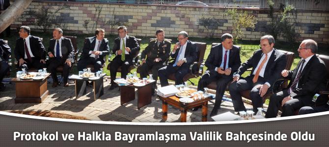 Kahramanmaraş'ta Protokol Bayramlaşması Yapıldı