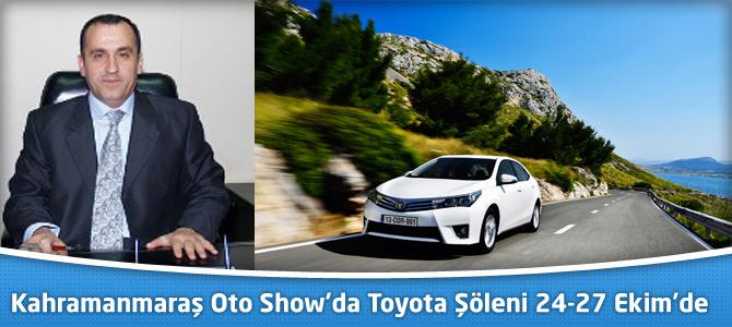 Kahramanmaraş oto show'da Toyota şöleni 24-27 Ekim'de