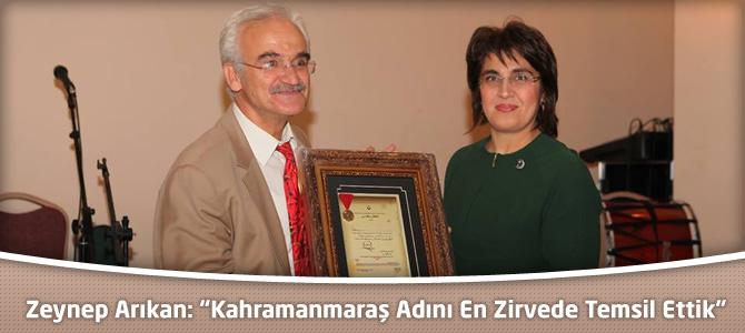 """Zeynep Arıkan: """"Kahramanmaraş Adını En Zirvede Temsil Ettik"""""""