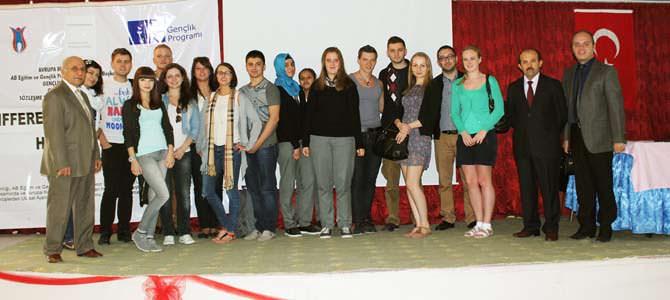 AB Gençlik Projesi Kapsamında 12 Genç Kahramanmaraş'ta