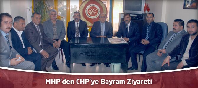 MHP'den CHP'ye Bayram Ziyareti