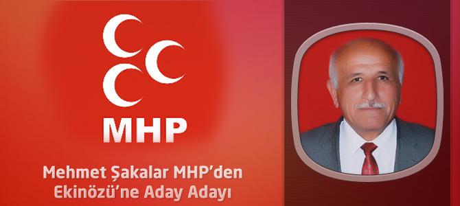 Mehmet Şakalar MHP'den Ekinözü'ne Aday Adayı