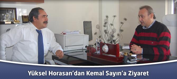 MHP Onikişubat İlçesi Belediye Başkan Aday Adayı Horasan'dan Sayın'a Ziyaret