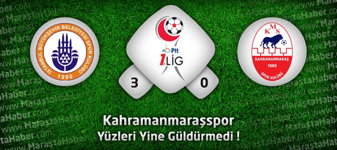 İstanbul Büyükşehir Belediyespor: 3 – Kahramanmaraşspor: 0 Maç özeti ve goller