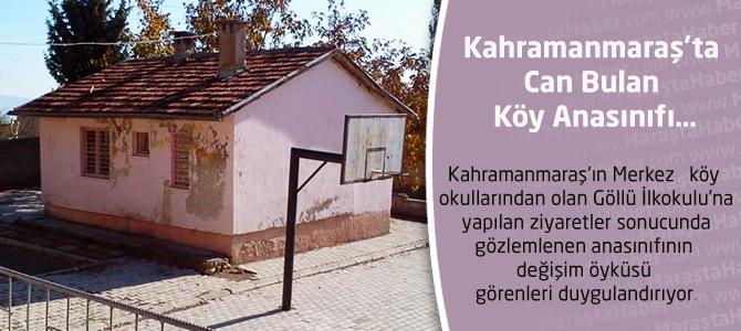 Kahramanmaraş'ta Can Bulan Köy Anasınıfı…
