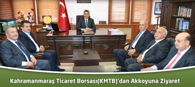 Kahramanmaraş Ticaret Borsası(KMTB)'dan Akkoyun'a Ziyaret