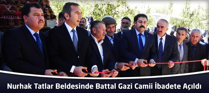 Battal Gazi Camii İbadete Açıldı
