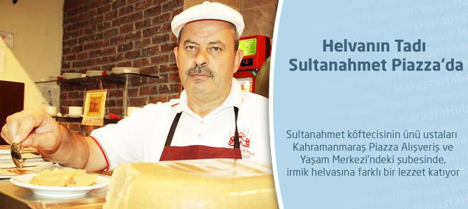 Helvanın tadı Sultanahmet Piazza'da