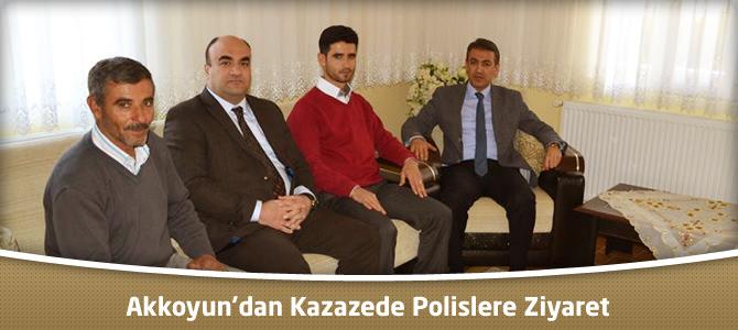 Akkoyun'dan Kazazede Polislere Ziyaret