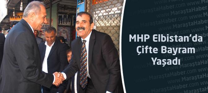 MHP Elbistan İlçesinde Çifte Bayram Yaşadı