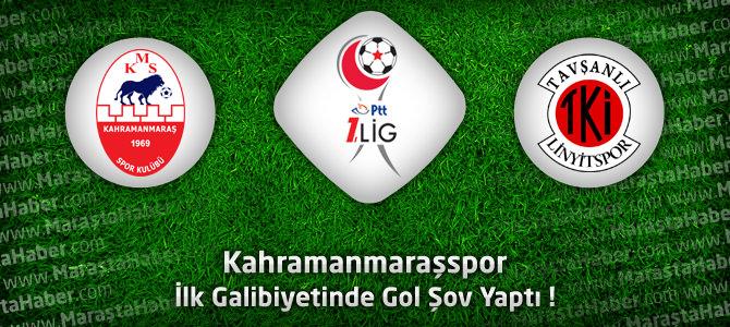Kahramanmaraşspor 4 – Tavşanlı Linyitspor 1 Maçın özeti ve golleri