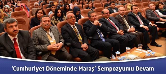 'Cumhuriyet Döneminde Maraş' Sempozyumu Devam