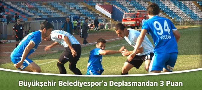 Kahramanmaraş Büyükşehir Belediyespor'a Deplasmandan 3 Puan : 0-1