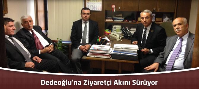 MHP Kahramanmaraş Milletvekili Dedeoğlu'na Ziyaretçi Akını Sürüyor